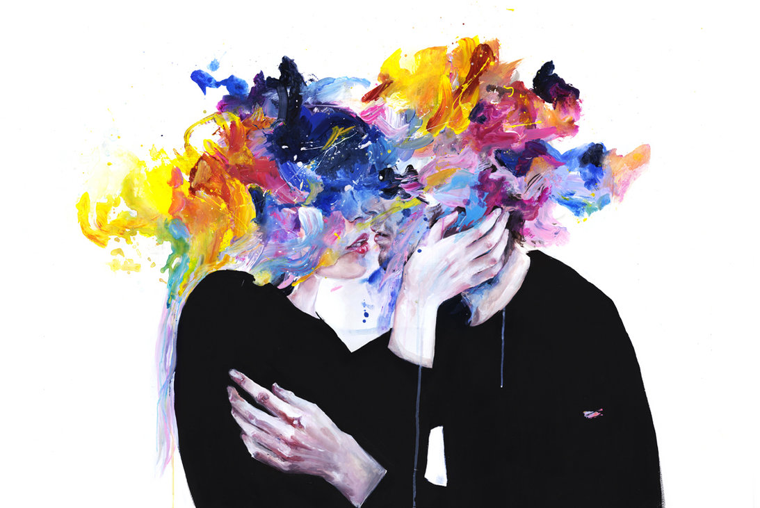 """Ill: """"Intimacy on display"""", Agnes Cecile"""